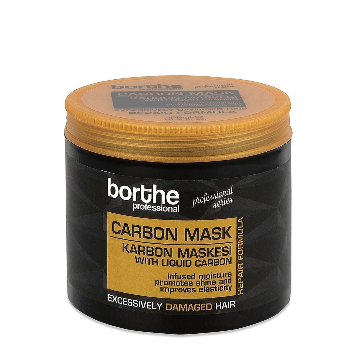 Borthe Saç Maskesi Carbon