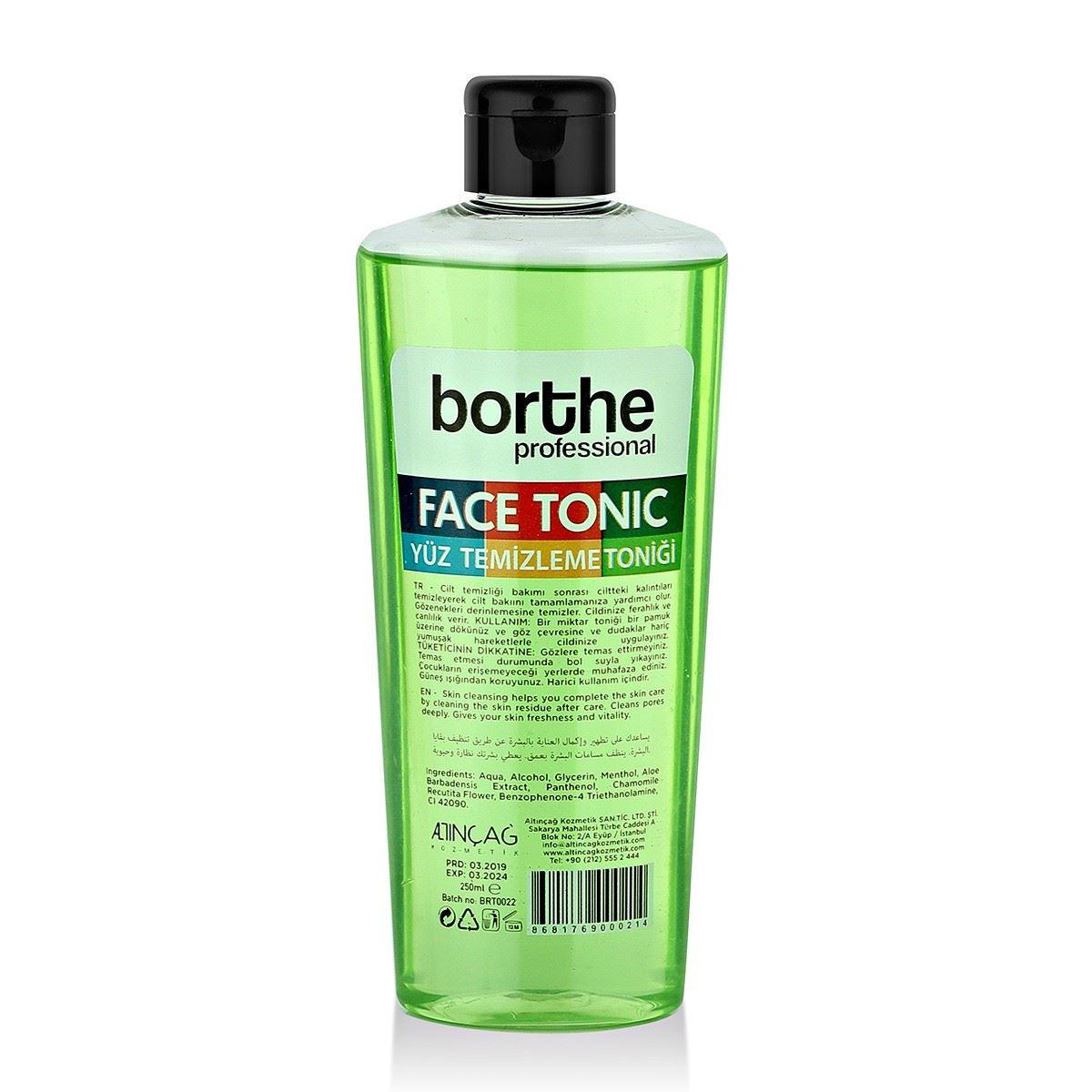 Borthe Yeşil Yüz Toniği 250 ml.