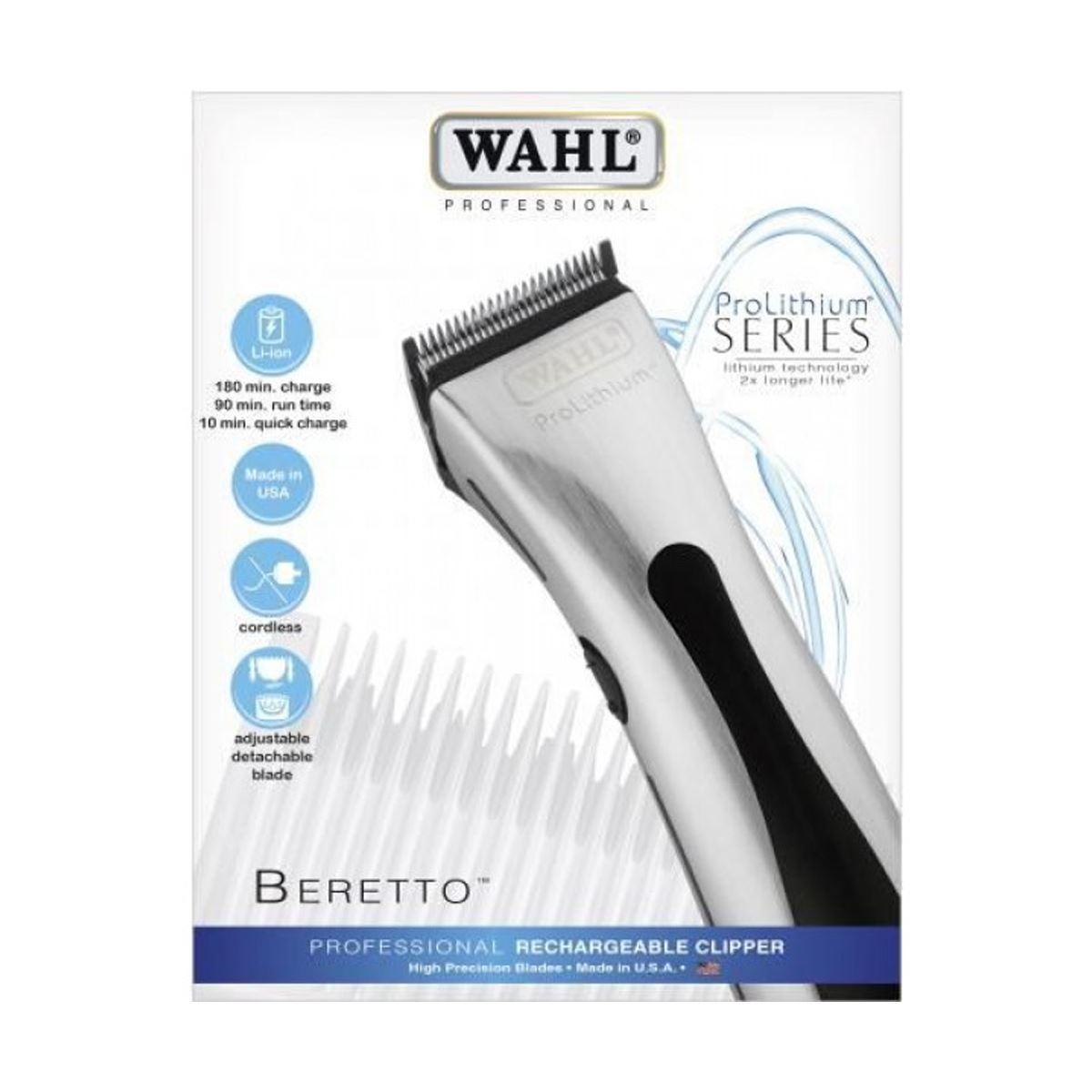 Wahl Beretto Silver 4212-0470 Saç Kesme Makinesi