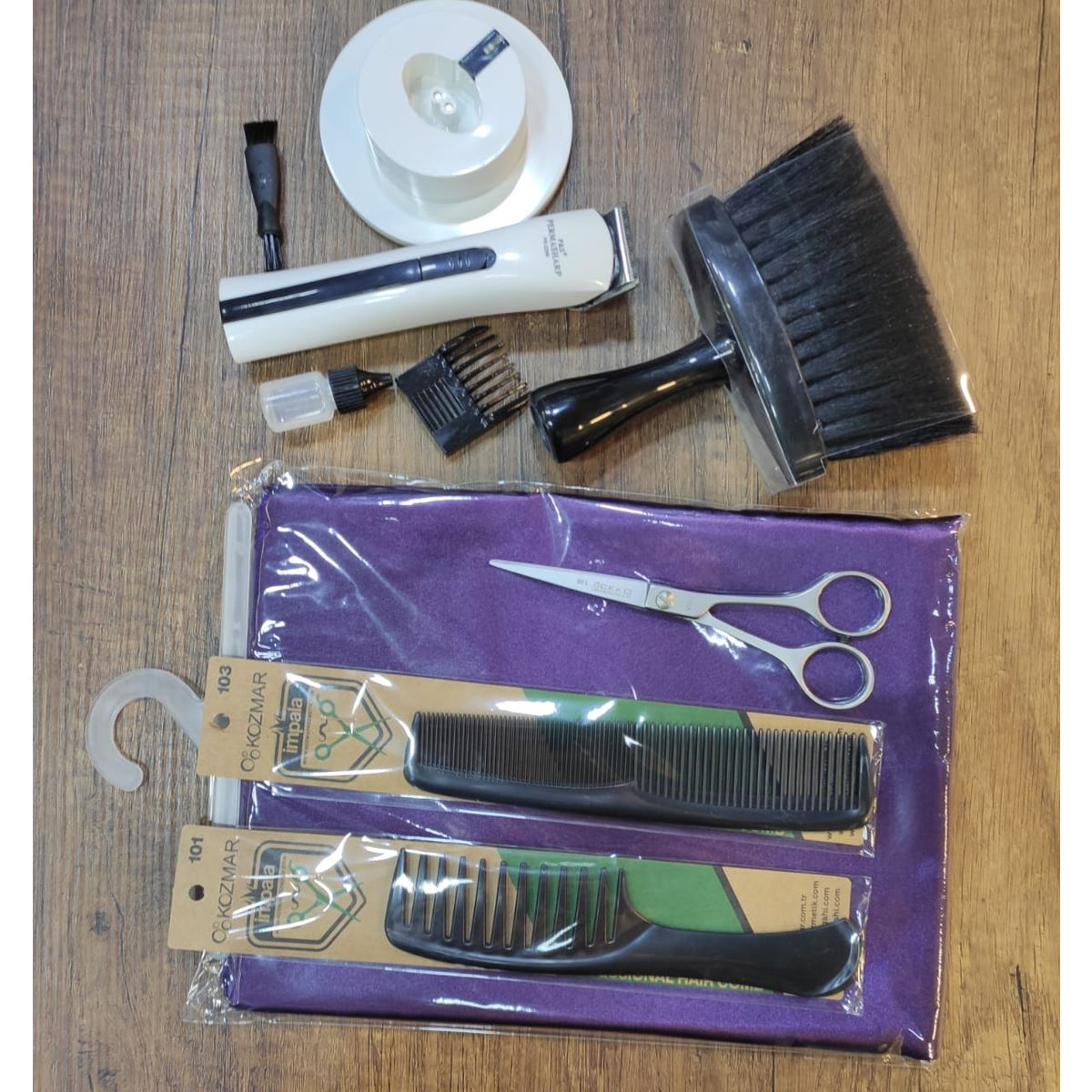 Saç Sakal Kesim Tıraş Seti 3
