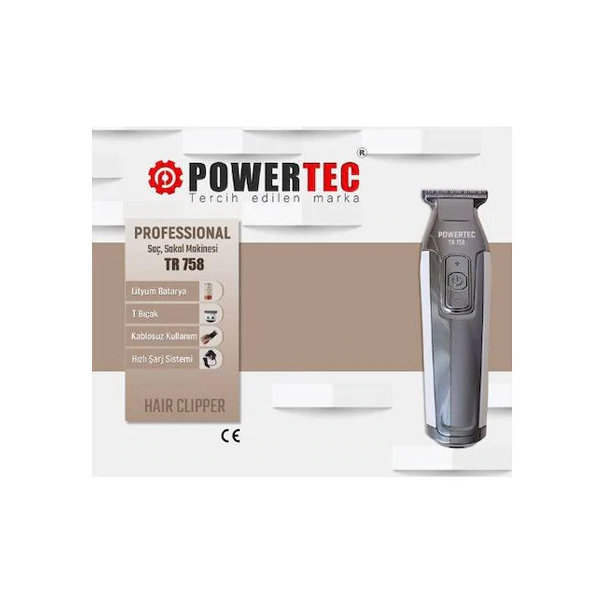 Powertec TR-758 Tıraş Makinesi