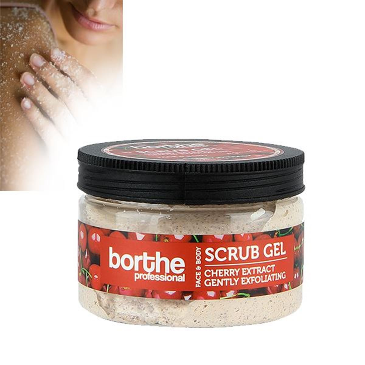 Borthe Cherry Scrub Gel 300ml