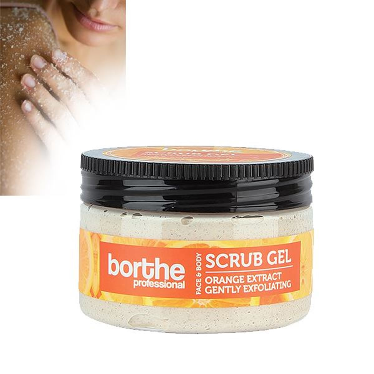 Borthe Orange Scrub Gel 300ml